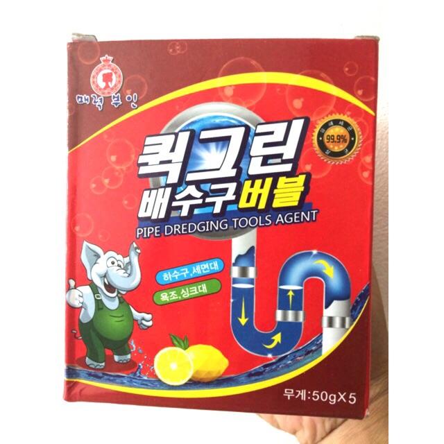 Bột Thông cống Hàn quốc con voi