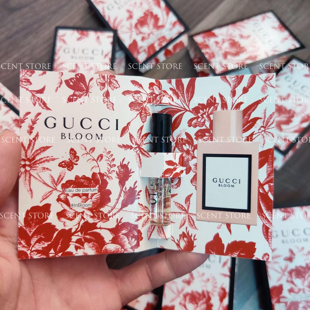Scentstorevn - Vial chính hãng nước hoa Gucci Bloom EDP [1.5ml]