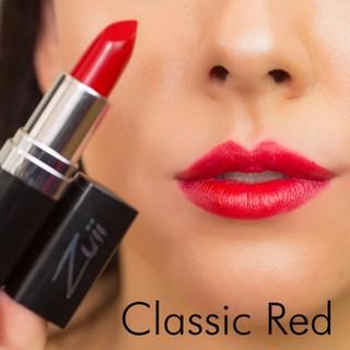 Son zuii flora lipstick -  Màu classic red