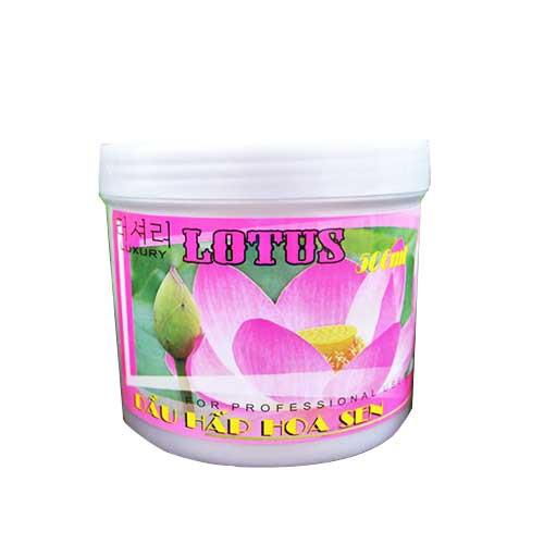 Kem ủ tóc phục hồi hư tổn Hoa Sen Lotus 500ml