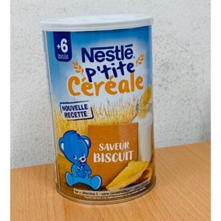 Bột pha sữa Nestle 6M+ vị bánh biscuite loại 400g - Bột lắc sữa Nestle bích quy (mẫu mới) thumbnail