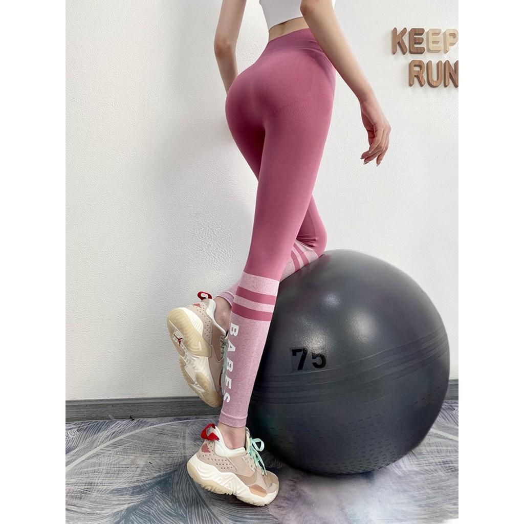 Mặc gì đẹp: Thoáng mát với Quần tập legging cạp cao siêu nâng mông tập gym, yoga cao cấp CK176 vải dệt kim co dãn tốt, tôn dáng, mặc thoải mái