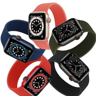 Dây đeo Braided Solo loop cho Apple Watch Series 6 ,  SE . Size 38 , 40 , 42 , 44 mm chính hãng COTEetCI không móc khoá