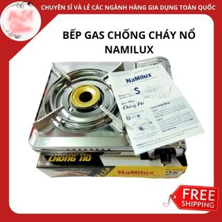 {Hàng chính hãng}Bếp Ga Mini Chống Nổ Namilux PL1921AS/Bếp gas du lịch inox Namilux