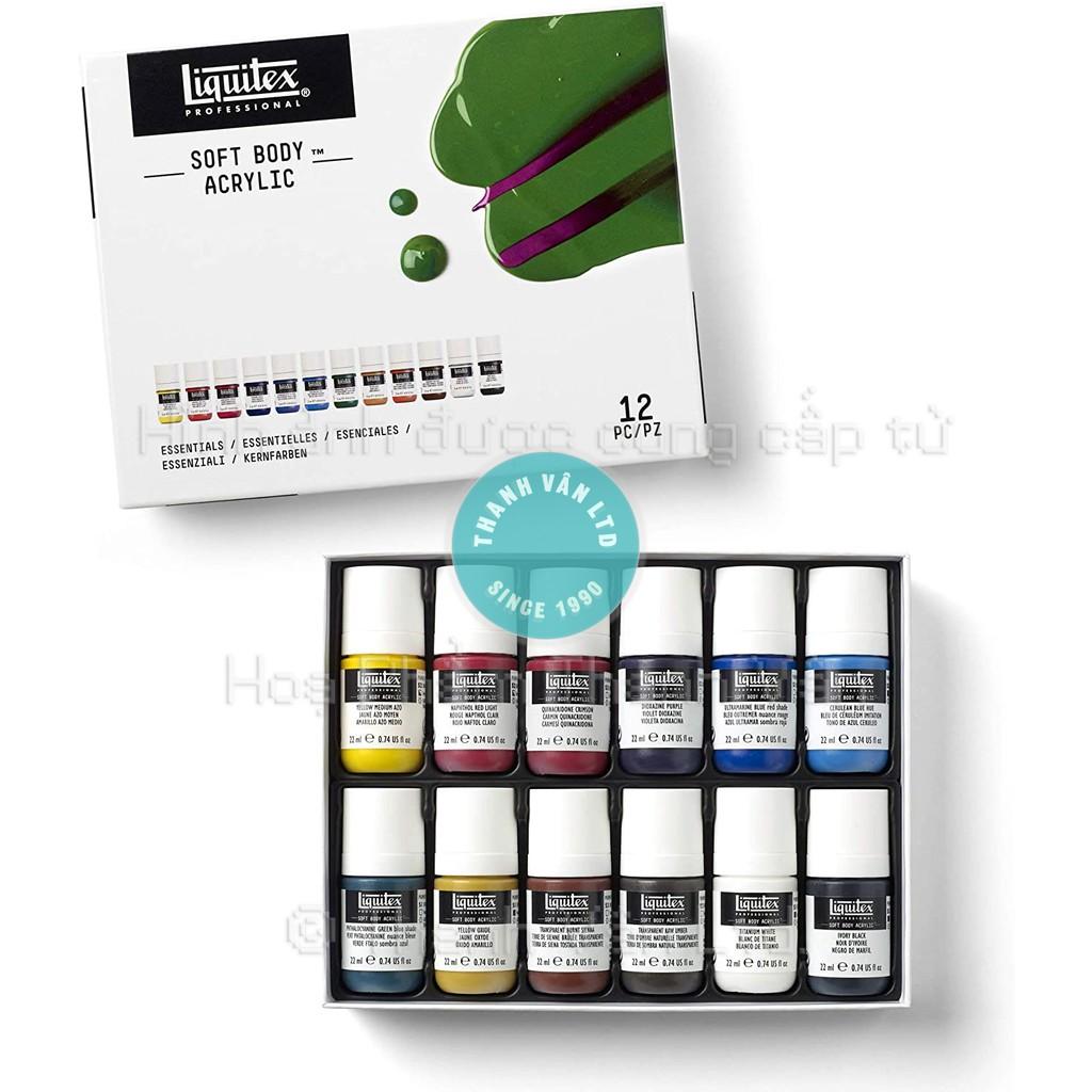 Màu Acrylic Liquitex Professional Soft Body