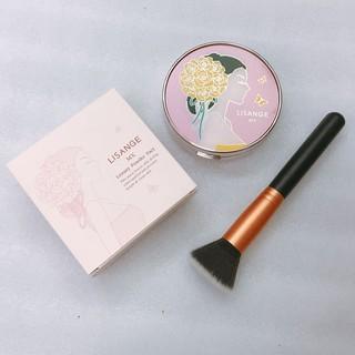 Bộ trang điểm phấn nền cọ trang điểm trang điểm da Lisange Mx Luxury Powder Pact Hàn Quốc Lamdep24g thumbnail