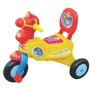 [Đồ chơi an toàn] Xe 3B thổi L7 Con Ngựa (Không nhạc) – M1056A-X3B [Hàng VN chất lượng cao]