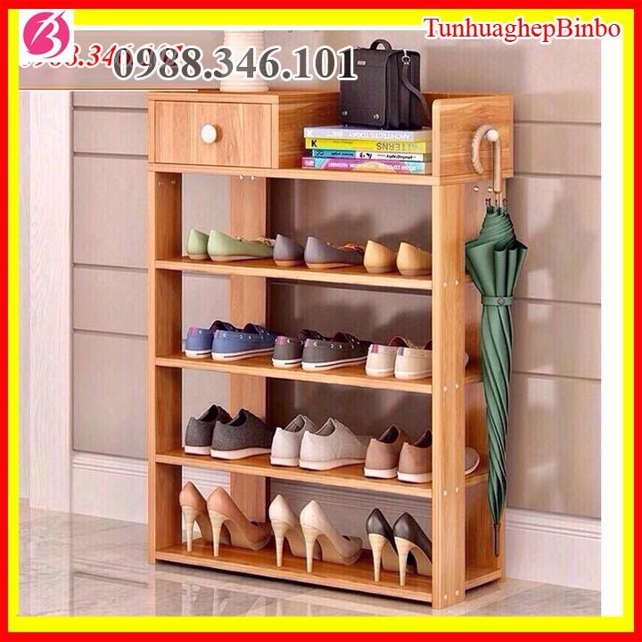 [Size to]Tủ giày gỗ - kệ giày gỗ 5 tầng đa năng gỗ ép cao cấp kích thước 60*24*85cm