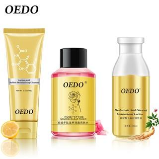 Set 3 mỹ phẩm chăm sóc da Oedo dưỡng ẩm và chống mụn cao cấp