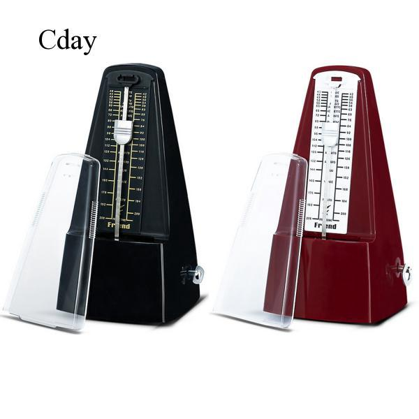 Imitation Wood Style Mechanical Metronome for Piano Guitar Violin Drums C431