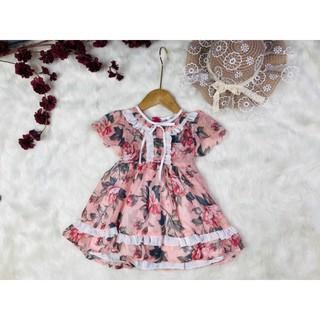 váy voan tơ cao cấp cho các bé