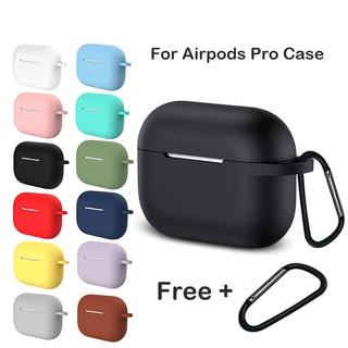 Vỏ bọc bảo vệ hộp sạc tai nghe Airpods Pro bằng silicon tiện dụng thumbnail