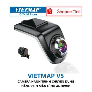 VIETMAP V5 - Thẻ 32GB - Camera Hành Trình Ô tô Kết Nối DVD Android - Điều Khiển Giọng Nói - Hàng Chính Hãng