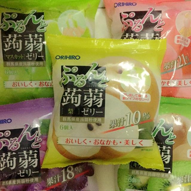 Thạch trái cây tươi Orihiro: 39k/gói