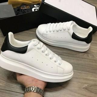 Giày thể thao MC Queen gót đen