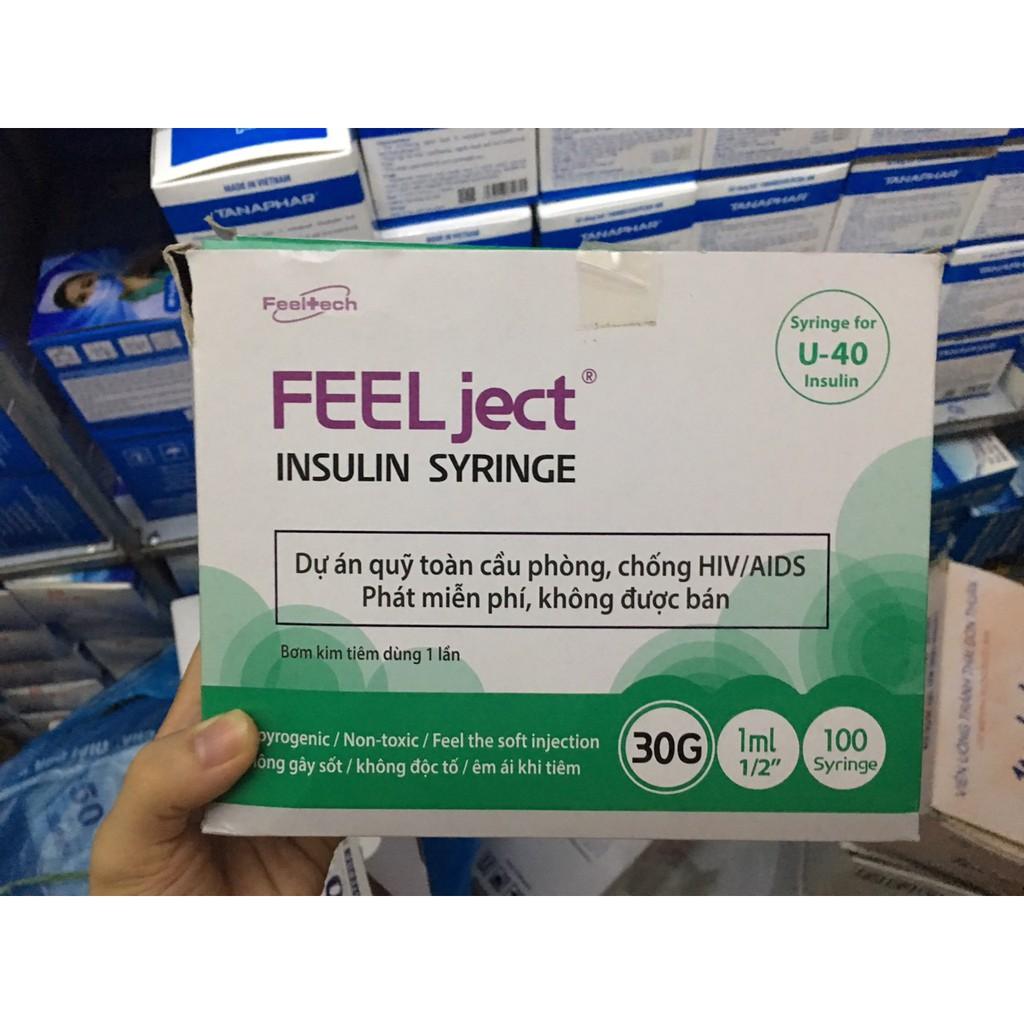 Bơm kim tiêm tiểu đường insulin - bơm dùng cho Spa