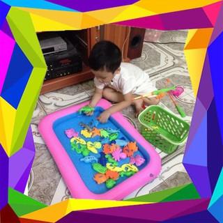 HN – Bộ bể câu cá nam châm cho bé