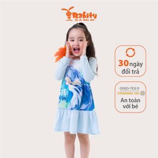 Đầm thun Elsa bé gái Rabity 5199.5233