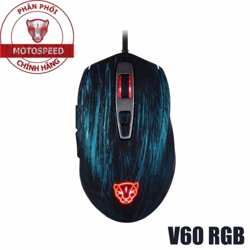 Chuột Motospeed V60 5000DPI Gaming USB Wired Optical RGB - 522