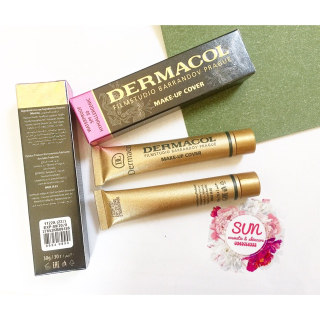 Kem nền, kem che khuyết điểm Dermacol Make-up Cover - 2701073 , 141289102 , 322_141289102 , 200000 , Kem-nen-kem-che-khuyet-diem-Dermacol-Make-up-Cover-322_141289102 , shopee.vn , Kem nền, kem che khuyết điểm Dermacol Make-up Cover