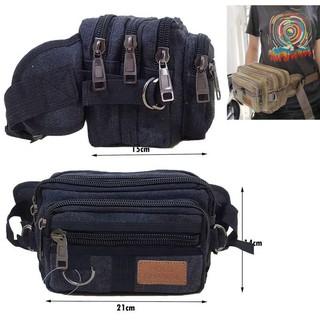Túi đeo ngang hông màu đen size 40