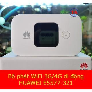 Bộ Phát Wifi 3G/4G Huawei E5577 và Pin 3000mAh – Hàng Chính Hãng – sử dụng liên tục 12h – Kết nối 16 thiết bị