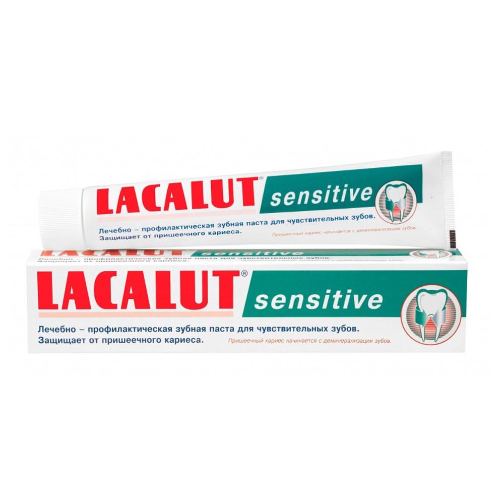 Kem đánh răng giảm ê buốt Lacalut Sensitive 75ml - Made in Germany