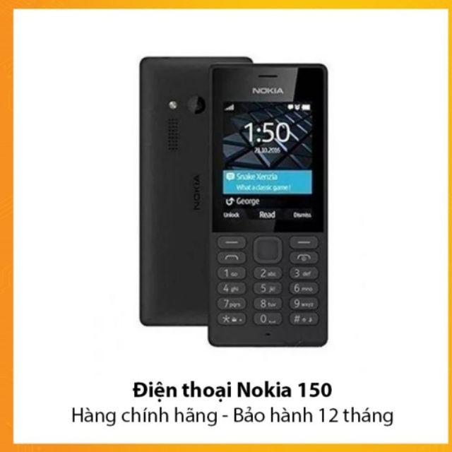 Điện thoại Nokia 150 2 Sim (Đen) - Chính Hãng - 2944756 , 219141769 , 322_219141769 , 650000 , Dien-thoai-Nokia-150-2-Sim-Den-Chinh-Hang-322_219141769 , shopee.vn , Điện thoại Nokia 150 2 Sim (Đen) - Chính Hãng