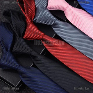 {NUV} Jacquard Woven New Fashion Classic Striped Tie Men's Silk Suits Ties Necktie{CC}