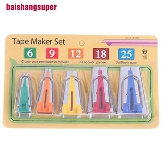 [baishangsuper]5 packs of DIY patchwork tool making belt edging device 6/9/12/18/25MM