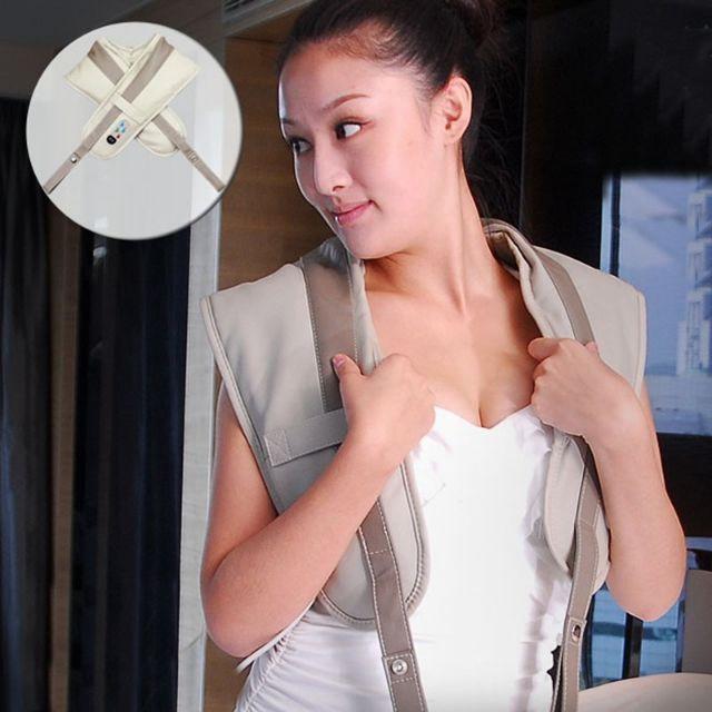 Đai massage đấm lưng-vai-cổ-gáy toàn thân siêu tiện lợi_ Bảo hành 12 tháng