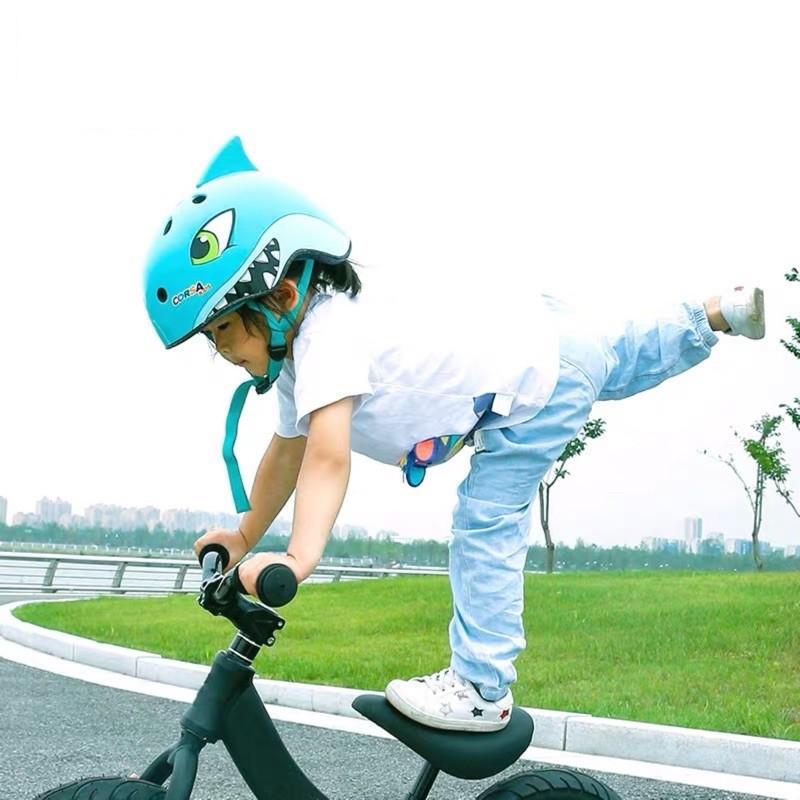 Mũ bảo hiểm hình thú Corsa cho bé - Hàng chính hãng bằng EPS cao cấp siêu nhẹ, chống va đập, thoáng khí