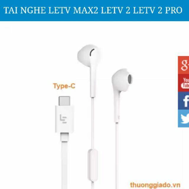 Tai nghe LETV MAX2 LETV 2 LETV 2 PRO Chân TYPE-C chính hãng
