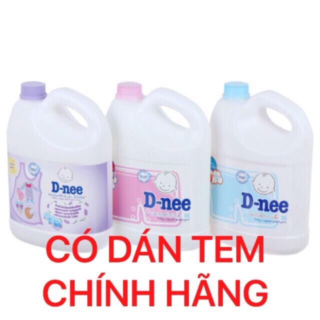 [Có tem chính hãng] Nước giặt xả 2 trong 1 Dnee Thái Lan