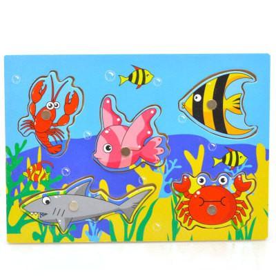 [Nhập mã TOYJUNE giảm 10K]Bộ Đồ Chơi Câu Cá Bằng Gỗ Đồ Chơi gỗ an toàn cho bé