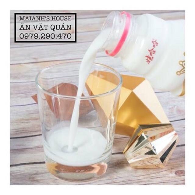 Sữa chua tươi Thanh Đảo - vị hoa quả cốt dừa, thơm ngon dinh dưỡng (chai 500ml)