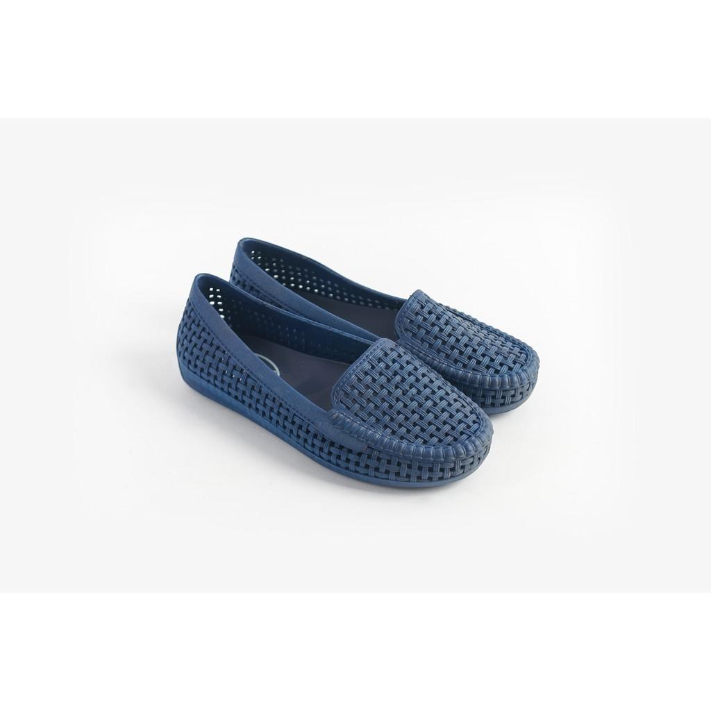 Giày nhựa đi mưa Nữ Solemate PVC01 Xanh dương