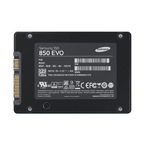 Ổ cứng SSD Samsung 850 evo 120Gb SATA III tháo laptop chính hãng ( cũ ) siêu bền Giá chỉ 550.000₫