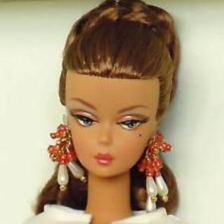 Búp bê barbie silkstone