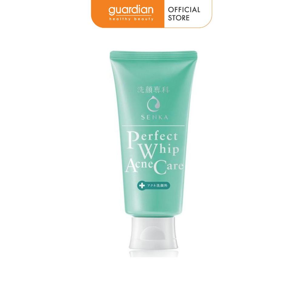 Sữa rửa mặt dành cho da mụn Senka Perfect Whip Acne Care 100g