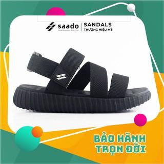 Giày Dép Sandal SAADO - YZ04 - Yezi Black