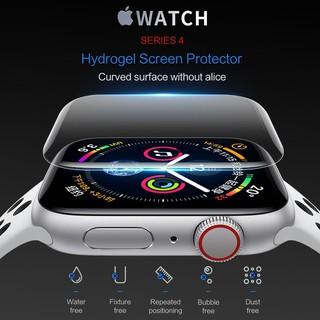 CHÍNH HÃNG Bộ 2 miếng dán màn hình dẻo ROCK cho Apple Watch 38mm, 40mm, 42mm, 44mm chống trầy xước, chống bám vân tay