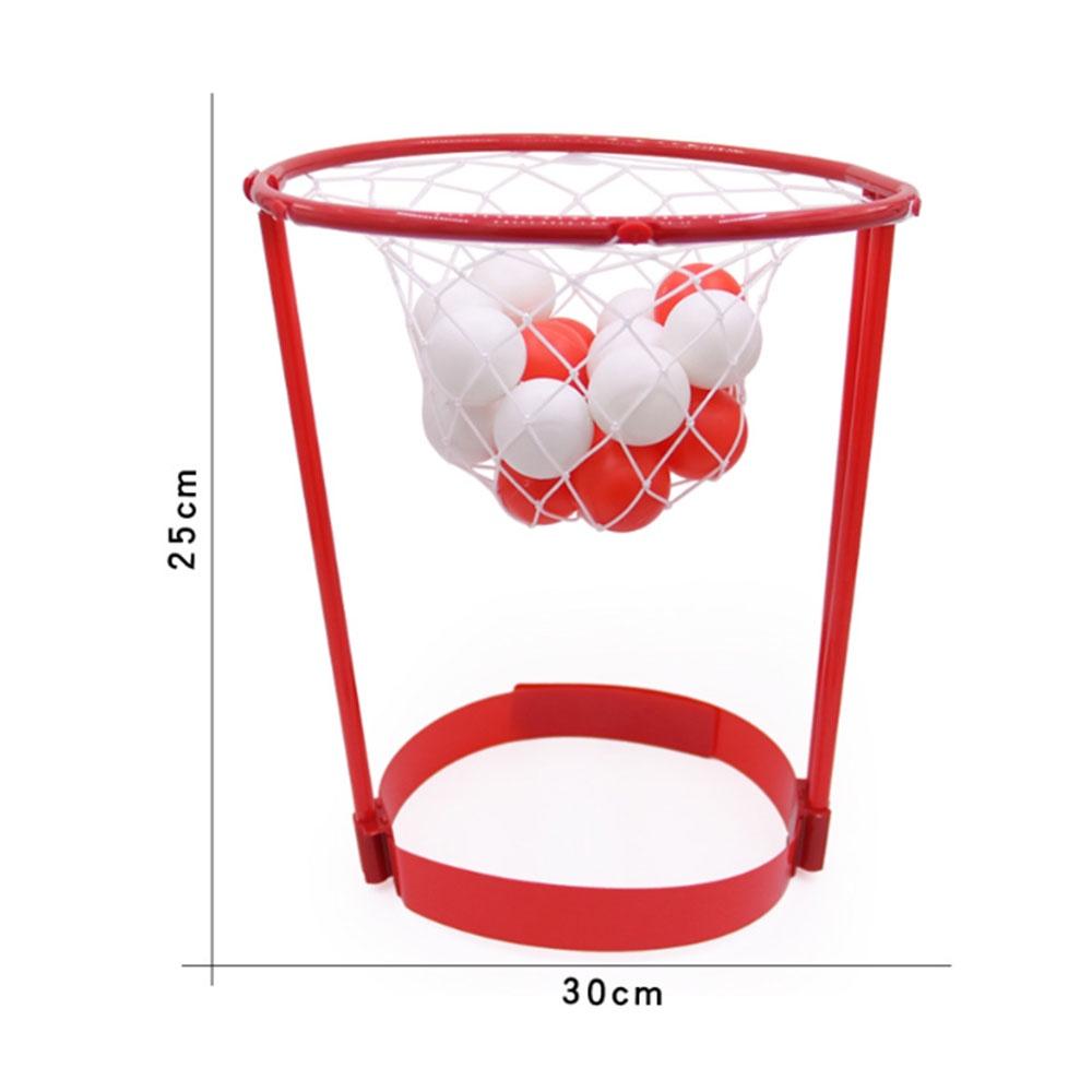 Head Basketball Hoop With 20pcs Balls Adjustable Head Hoop Game Shooting Ball Outdoors Sport Children Kids Educational Toys Game