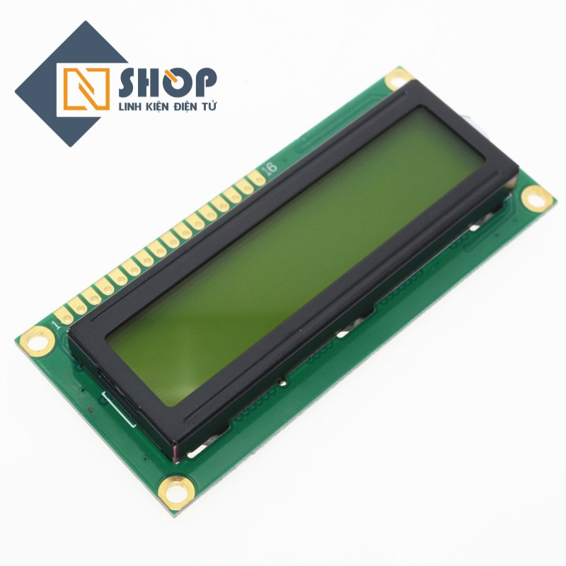 LCD1602 Xanh Lá