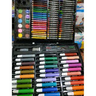 Set hộp bút màu 150 chi tiết cho bé