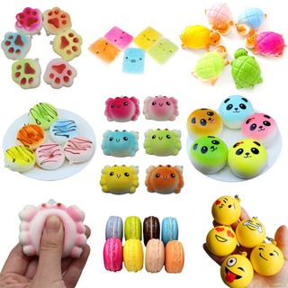 Squishy Jumbo Animal Series Slow Rising Squishies Squeeze Toy Stress Reliever UK