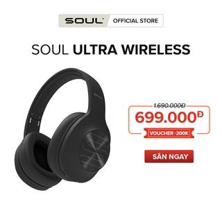 [Voucher SOULSU200 Giảm 200K] Tai Nghe Bluetooth Chụp Tai Soul Ultra Wireless Dynamic Bass, Nghe Đến 36 giờ - Chính Hãng thumbnail