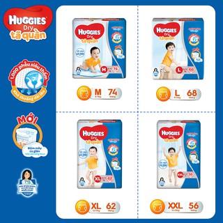 Tã quần Huggies Pant Super Jumbo M74 L68 XL62 XXL56 - Tã quần Huggies đủ size M74 L68 XL62 XXL56