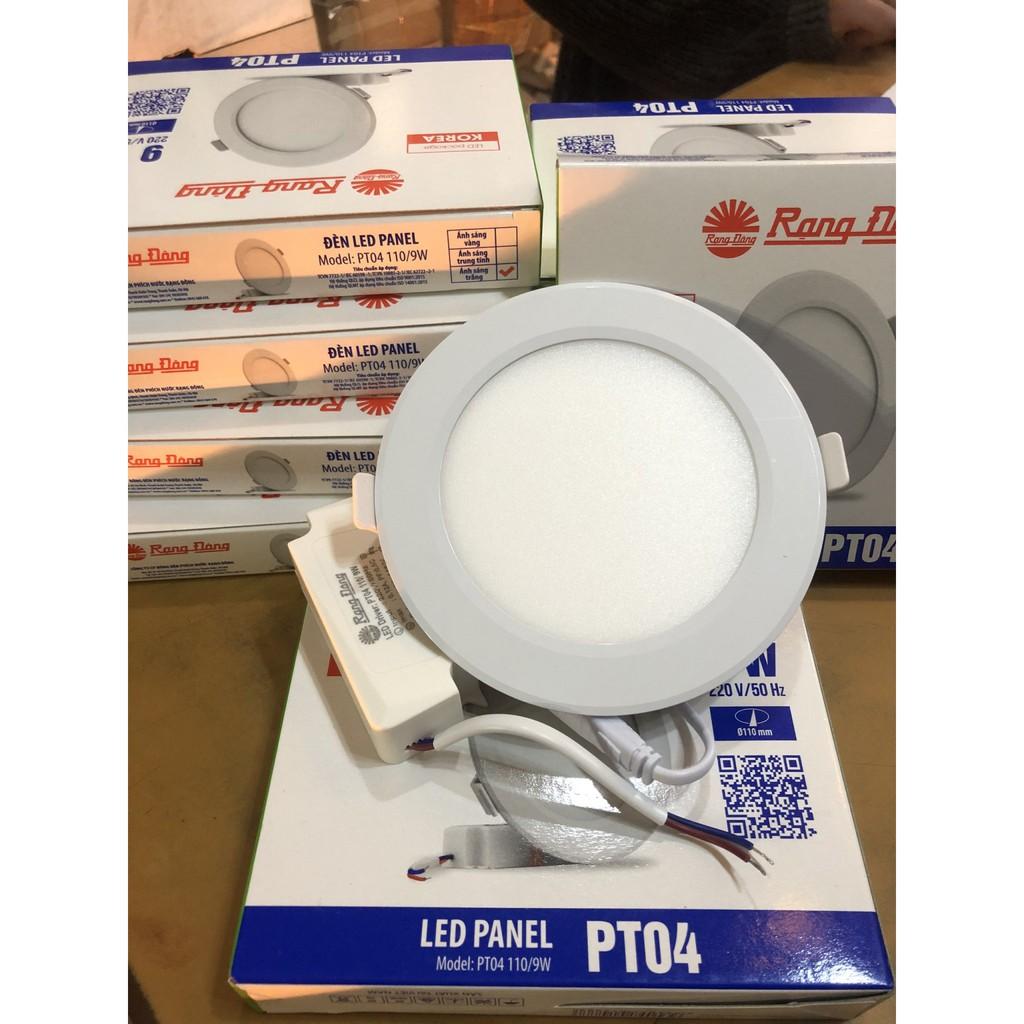 Đèn LED âm trần mỏng 110/9W Rạng đông