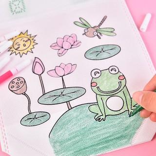 Túi vẽ túi tô màu cho bé 4